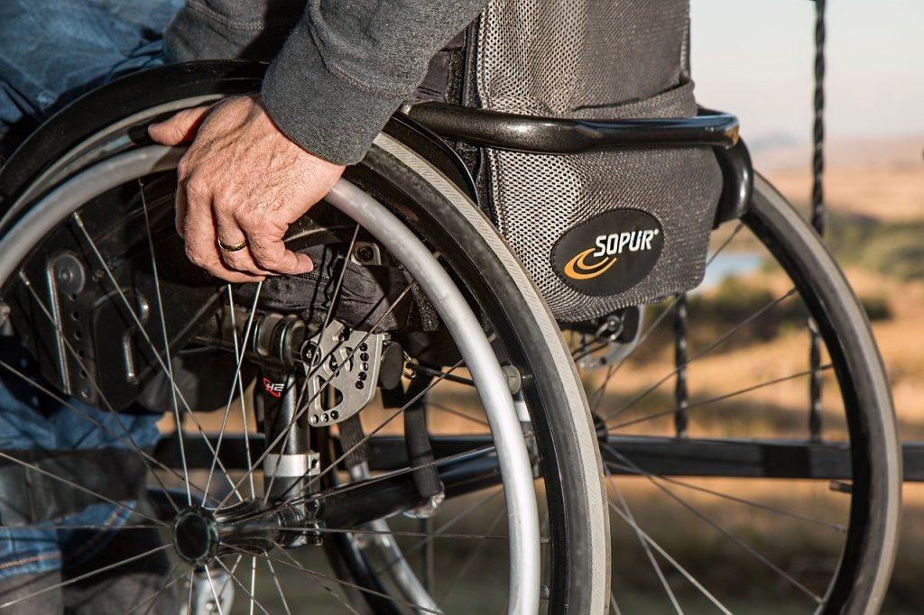 rolstoel massages Marjan Bleijerveld